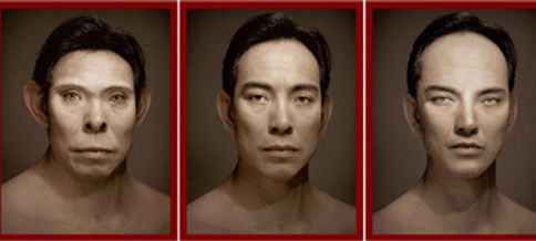 Self-Portraits <br> 54.5x42 cm each of 4 im... <br> Archival Ink Jet Print <br> Self-Portrait <br> 1997 <br>