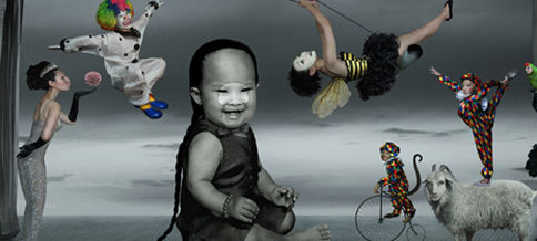 Circus <br> 180x500 cm <br> Archival Ink Jet Print <br> Circus <br> 2011 <br>