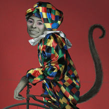 Monkey W <br> 74x104 cm <br> Archival In... <br> Circus <br> 2011 <br>